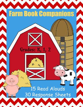 Farm Book Companions: 15 Stories with 30 Response Sheets