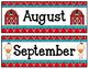 Farm Calendar Pieces and Nametags