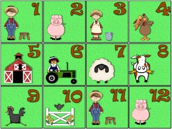Farm Calendar Set