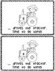 Farm Chores~ emergent reader