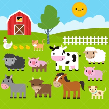 Farm Clip Art / Farm Animals