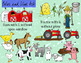 Farm Clipart Mega Bundle - 39 pc set - Color and Blackline