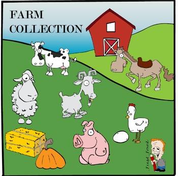 Farm Clipart Collection
