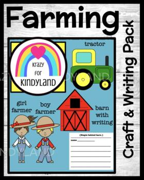 Farm Crafts and Writing Value Pack: Farmers, Tractor, Barn