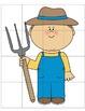 Farm Cut & Paste Puzzles