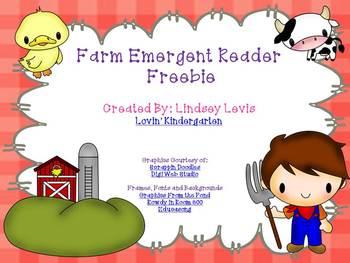 Farm - Emergent Reader {freebie}