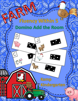 Farm Fluency Within 5 Domino Add the Room