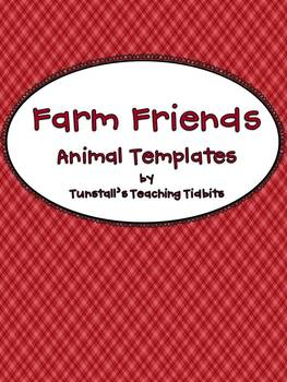 Farm Friends Animal Templates