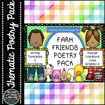 Poetry Pack Writing Activities for the Primary Grades-Farm