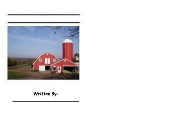 Farm Friends Printable Book