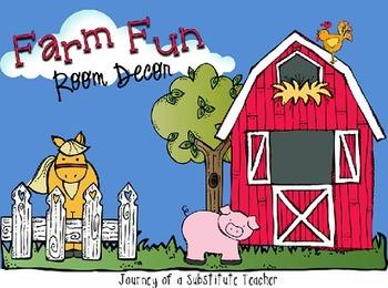 Farm Fun Room Decor Pack