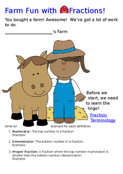 Farm Fun with Fractions