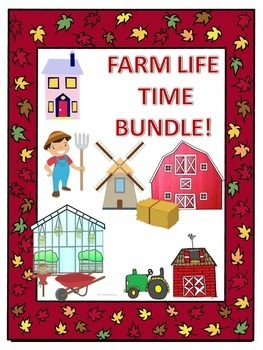 Telling Time Bundle: Telling and Elapsed Time (Farm Life)