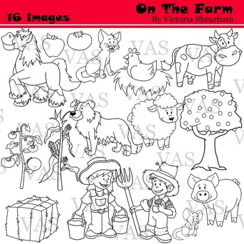 Farm Line Clip Art clipart