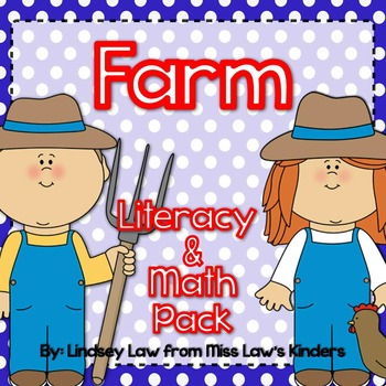 Farm Literacy & Math Pack