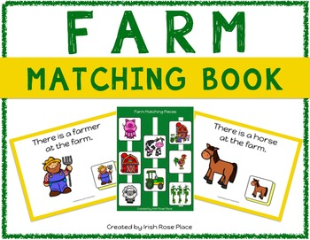 Farm Matching Book (Adapted Book)