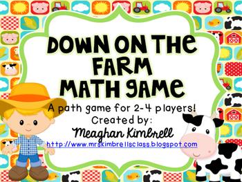 Farm Math Game