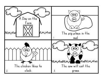 Farm Mini Booklet