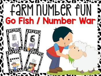Farm Number Card Game #0-20