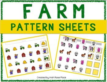 Farm Pattern Mats