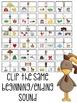 Farm: Phonemic Awareness & Phonics Clip Cards
