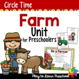 Farm Circle Time Unit