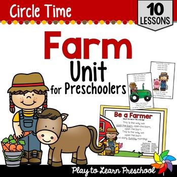 Farm Circle Time Unit