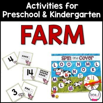Farm Preschool Unit