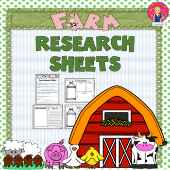 Farm Research Sheets