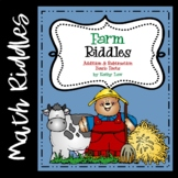 Farm Riddles -- Addition & Subtraction