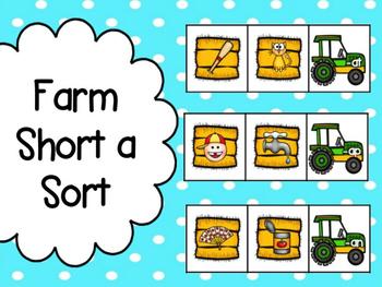 Farm: Short a Word Family Sorts