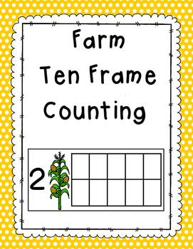 Farm Ten Frame Counting