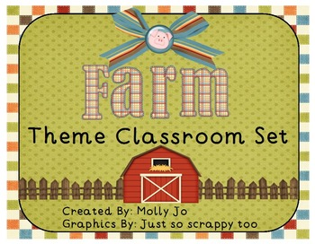 Farm Theme Classroom