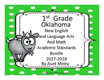 NEW  First Grade Oklahoma Language Arts, Math Academic Sta