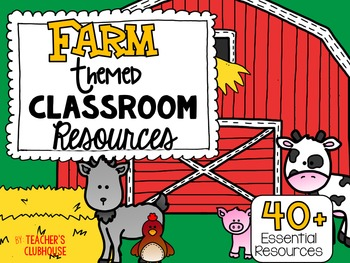 Farm Theme Decor Pack
