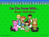 Farm Theme PowerPoint Game Template
