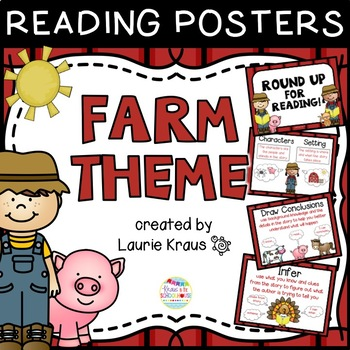 Farm Theme Reading Comprehension Posters