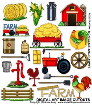 Farm Themed Clipart