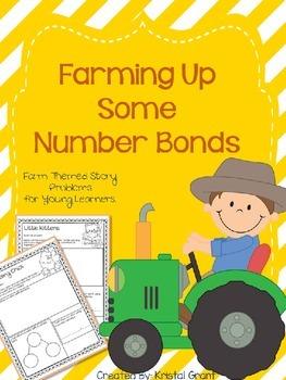 Farm Themed Number Bonds (Common Core Aligned K.OA.1 & K.OA.2)