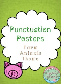 Farm Themed - Punctuation Posters