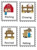 Farm Themed Root Words Write the Room Set Three