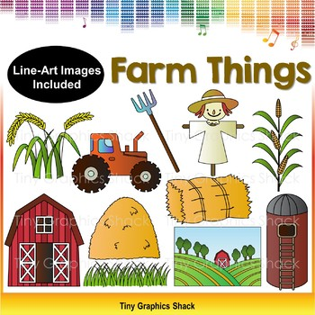 Farm Things Clip Art