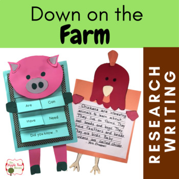 Farm Unit {CCSS Research, Writing, ELA Thematic Unit} Kind