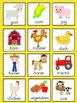 Farm Vocabulary Cards