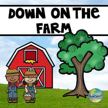 Farm Vocabulary Word Cards