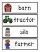 Farm Word Wall Cards