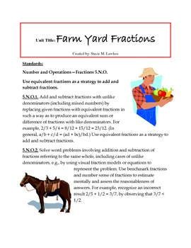Farm Yard Fractions