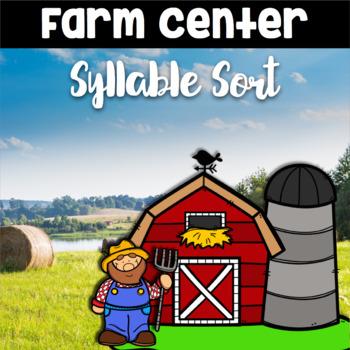 Farm and Animal Syllable Sort