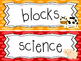 Farm themed Printable Classroom Center Signs. Class Accessories.