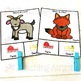 Farm v Desert Animals Sorting Categories Task Cards